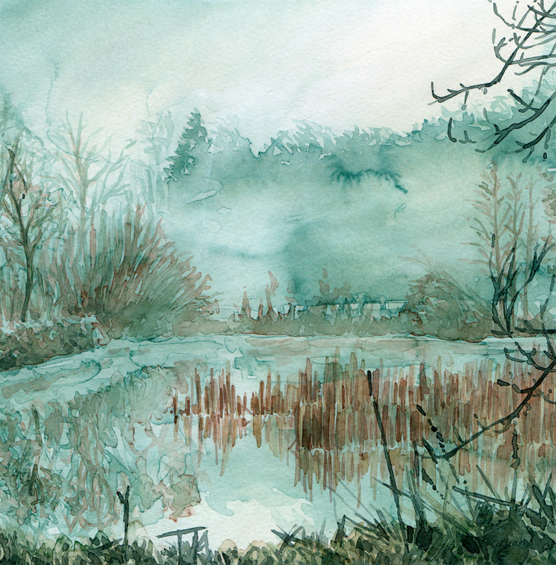 Aquarell Misty 10