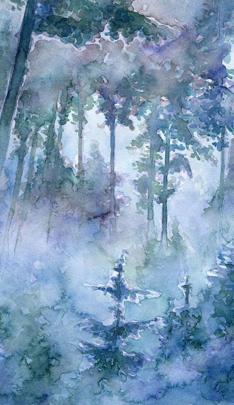 Aquarell Misty 3