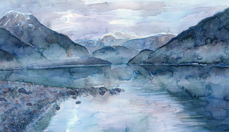 Aquarell Misty 4