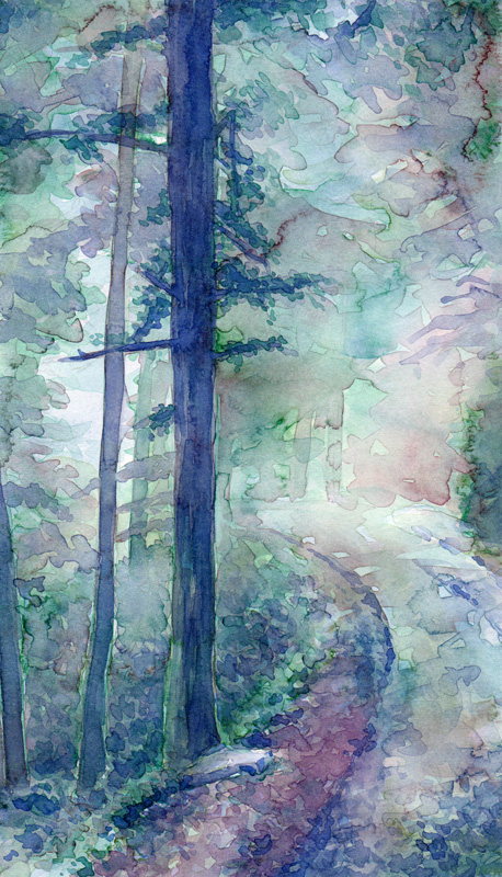 Aquarell Misty 6