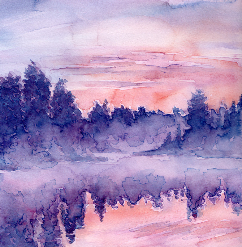 Aquarell Misty 7