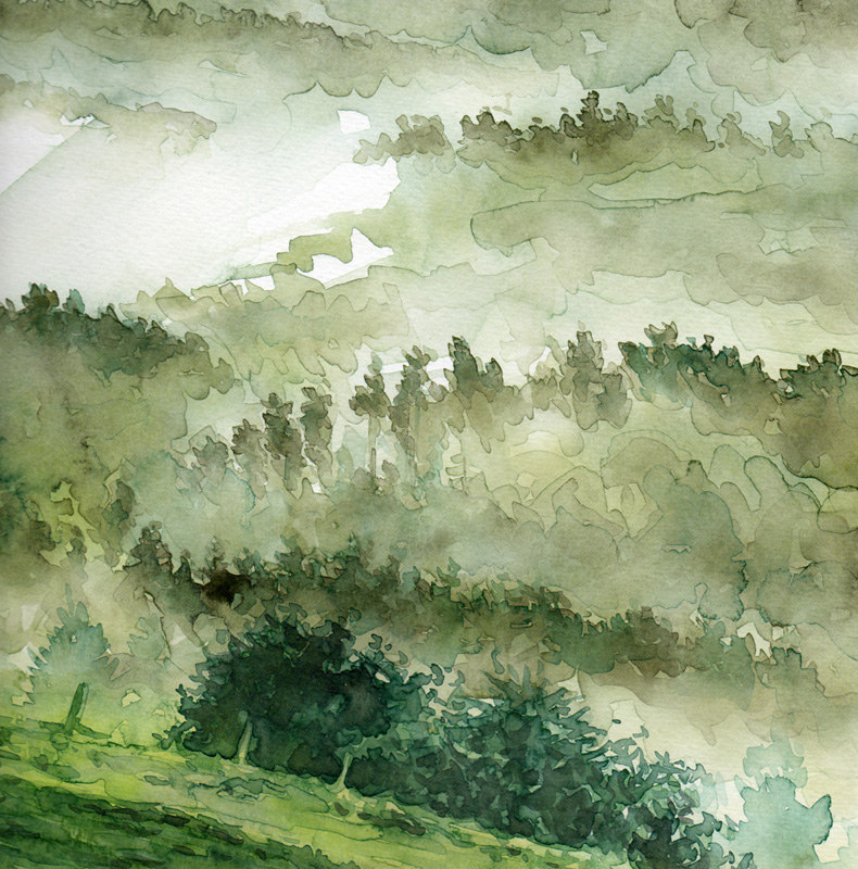 Aquarell Misty 8