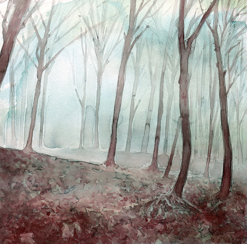 Aquarell Misty 9